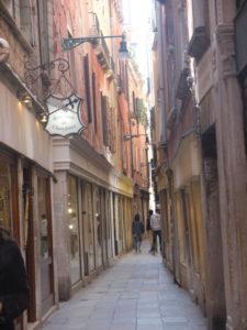 Venise, ruelle typique