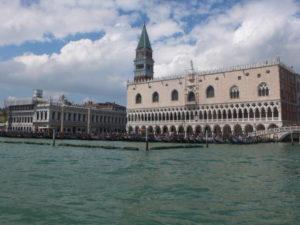 Venise, vue sur le Palais des doges