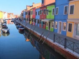 Les maisons colorées de Burano