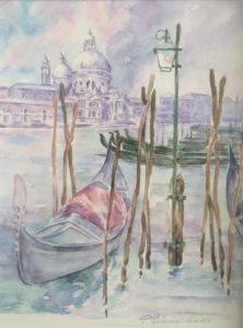 Aquarelle de Venise