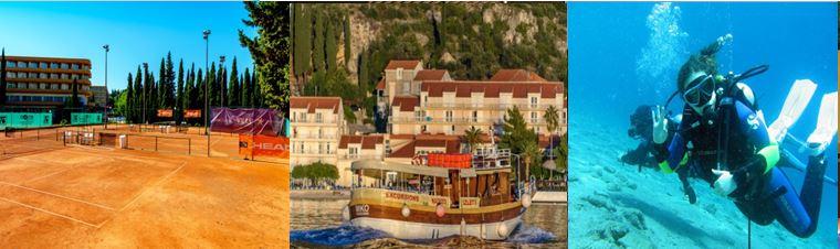 Croatie, Dubrovnik voyage globe travel, activités, excursions, sports