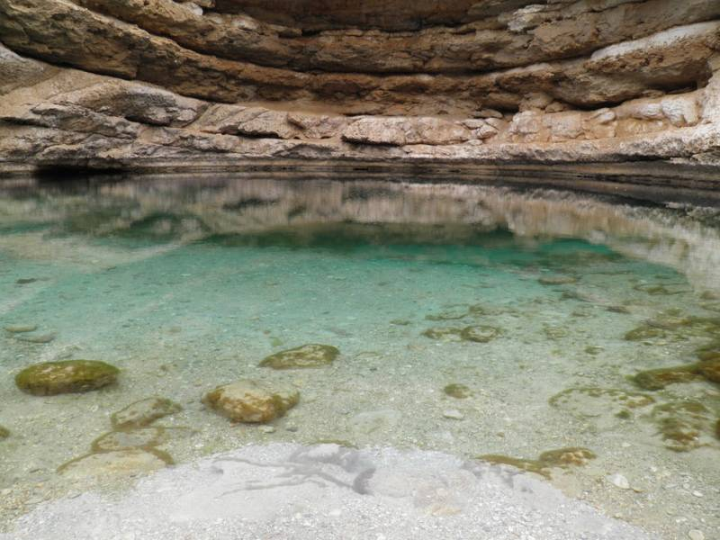 Oman voyage globe travel, circuit, Oman piscine, canyon, paysage