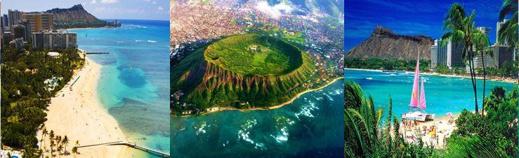 voyage hawai honolulu plongée, vols, hotel globe travel