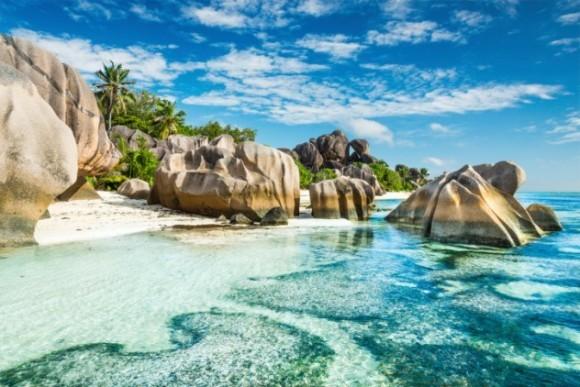 globe travel voyage seychelles, iles, tortues, vallée de mai, ile curieuse, anse lazio