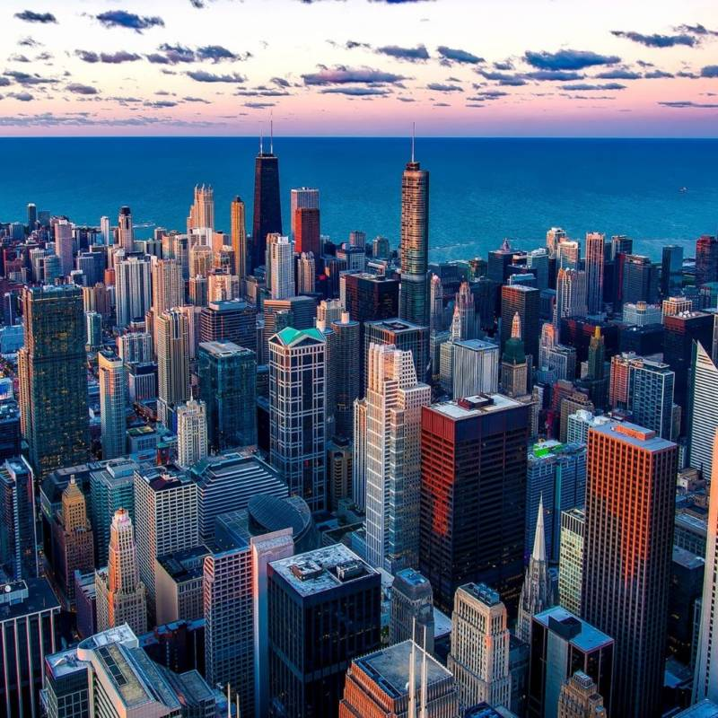 voyage-globe-travel-USA-chicago