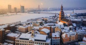 Voyage nouvel an à Riga en Lettonie